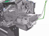 como cambiar correa plotter hp designjet