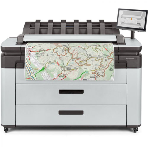 plotter hp designjet xl3600