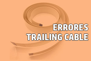 error trailing cable plotter