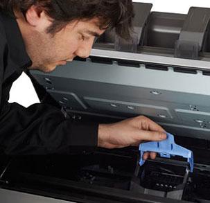 mantenimiento cabezales y tintas plotter